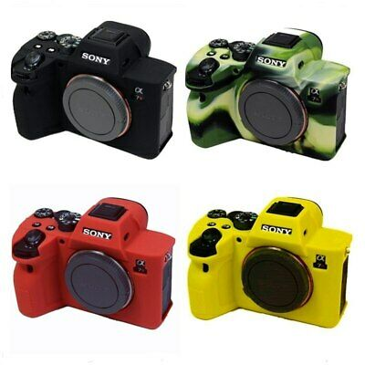 $ CDN24.30 • Buy Silicone Case Camera Protective Body Cover For Sony A7 IIII A7R4 A7R Mark A7