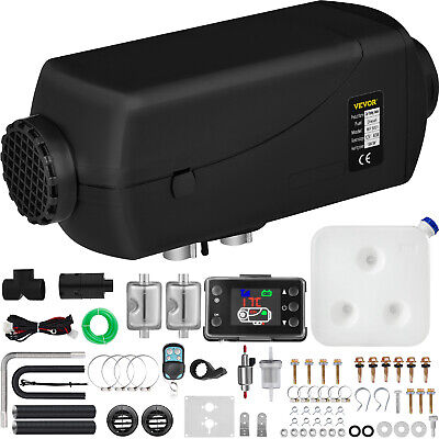 $ CDN214.99 • Buy 5KW Diesel Air Heater 12V Double Mufflers W / LCD Thermostat For RV Bus Trailer