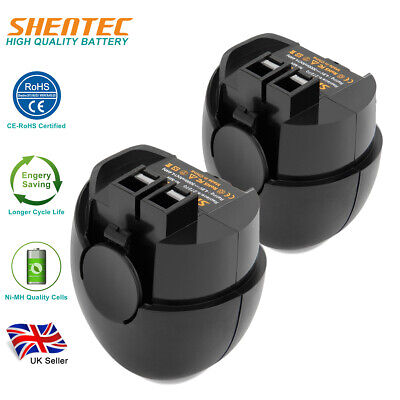 2x4.8V 3.0AH Ni-MH Battery For Metabo Powergrip 2 Powergrip II Powermaxx 6.27270 • 22.91£