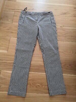 Gingham/Checked Rockabilly Trousers 12 • 6£