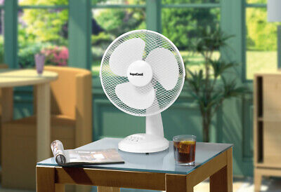 Supercool Oscillating Desk Fan 12  • 26.95£