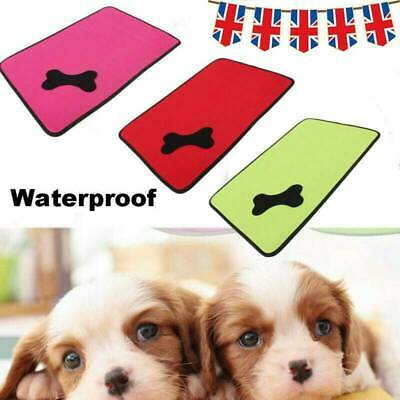 Waterproof Warm Dog Bed Pet Kennel Cushion Mat Crate Cage Pad Large House UK • 11.06£