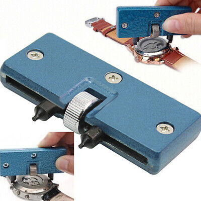 $ CDN3.78 • Buy Hot Adjustable Rectangle Watch Back Case Cover Opener Remover Wrench Repair Kit