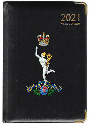 The Royal Corps Of Signals - 2021 Diary - A5 - Black • 8.50£