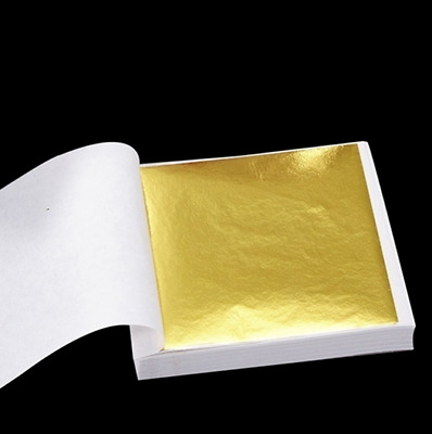 Special Price! 100 Sheets Of 24K Gold Foil/Leaf - Not Edible • 8£