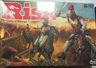$24.99 • Buy Risk The Game Of Strategic Conquest Hasbro Gaming New