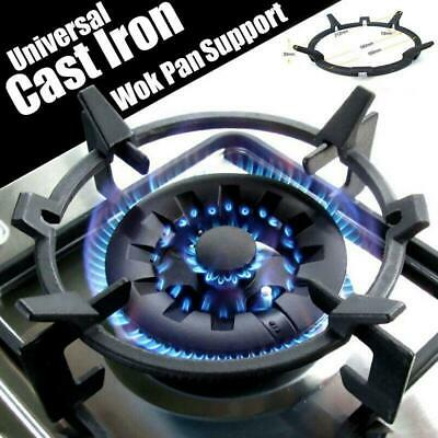 AU25.37 • Buy Universal Cast Wok Ring Iron Stand Rack For Burners Gas Hobs&Cookers Replace