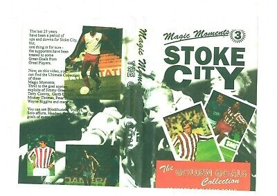 Stoke City The Golden Goals Dvd • 10£