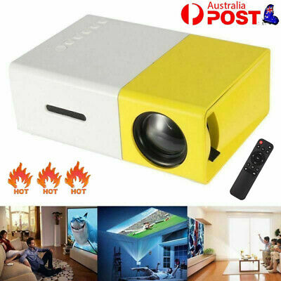 AU55.43 • Buy 2020 New Mini Pocket LED Home Cinema Projector HD 1080P Portable Cinema HDMI USB