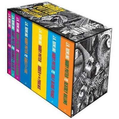 $ CDN73.97 • Buy Harry Potter The Complete Collection 7 Books Set Box Collection J K Rowling - Bl