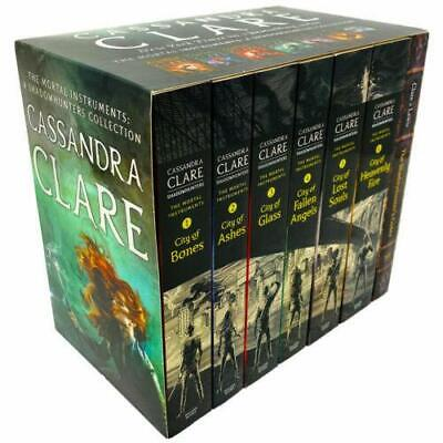 The Mortal Instruments A Shadowhunters 7 Books Collection Set By Cassandra Clare • 18.64£