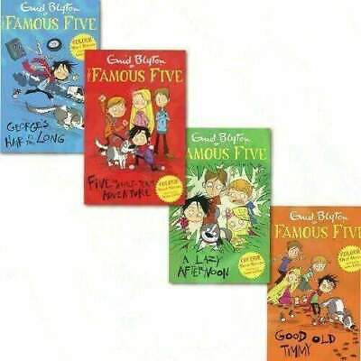 Enid Blyton Famous Five Colour Readers Collection 4 Books Set, (Good Old Timmy) • 19.79£