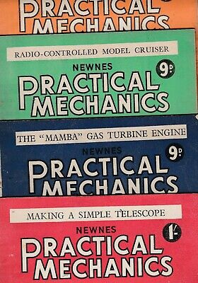 £4.25 • Buy Various Issues Of PRACTICAL MECHANICS Magazine January 1947 To June 1952