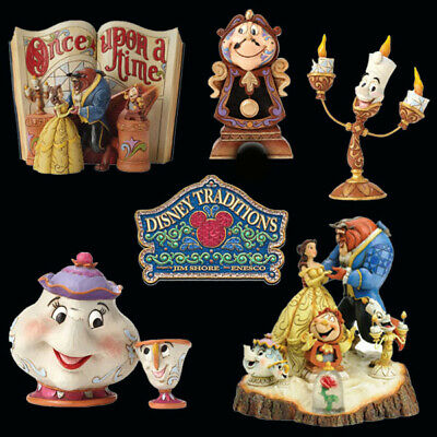 £26.36 • Buy Collection Of Disney Traditions Beauty & The Beast Figurines Figures New & Boxed