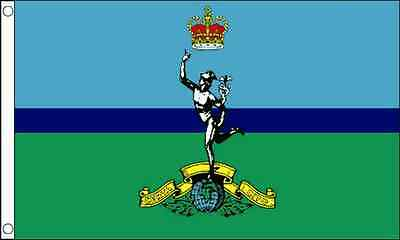 Royal Signals Corps Flag 5'x3' Military Forces Armed Forces • 3.95£