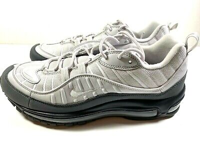 $125 • Buy Nike Air Max 98 Mens Shoes Size 11 (640744 111) White/Vast Grey