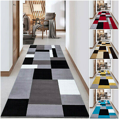 Extra Long Hallway Runner Rug Living Room Bedroom Kitchen Carpet Hall Runners • 19.99£