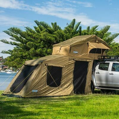 AU1118 • Buy Premium Roof Top Tent With 6 Man Annex 4WD Offroad Camper Trailer 4x4 Car Rack