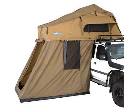 AU978.04 • Buy Kings Camping Caravan Outdoor Roof Top Tent With 4 Man Annex 4WD 4x4 Extension