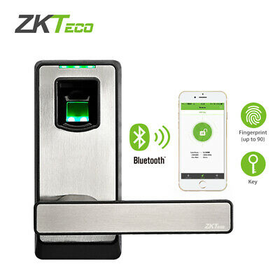 AU155 • Buy Smart Door Lock Bluetooth Lock Fingerprint Keyless Entry Home Easy To Install