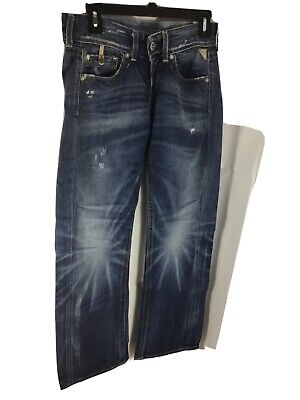 Replay Janice Jeans Waist 26 Length 32 Baggy Fit • 18.99£
