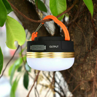 AU16.99 • Buy USB Bright Rechargeable LED Camping Tent Fishing Lamp Light Portable Lantern TR