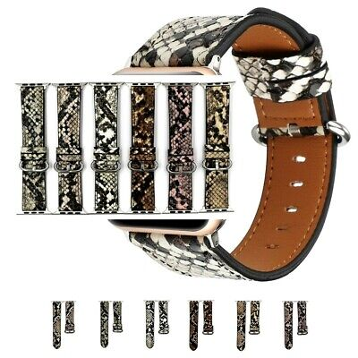 AU26.20 • Buy For Apple Watch Series Iwatch 5/4/3/2/1 38/40/42/44mm Leather Strap Luxury Band