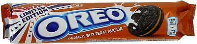 3x154g OREO PEANUT BUTTER Filled Chocolate Sandwich Biscuits - Limited Edition • 16.49£