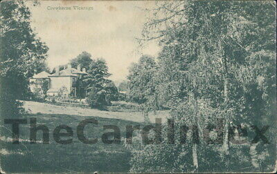 CREWKERNE The Vicarage Postcard Nr Yeovil SOMERSET Anon • 5.10£