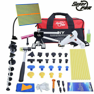 PDR Tools Car Body Dent Repair Dint/Hail Puller Dent Removal Kit With Tool Bag • 43.99£