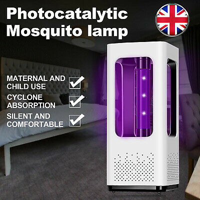 Electric Insect Mosquito Fly Killer Bug Zapper UV Home LED Pest Catcher Trap UK • 9.88£