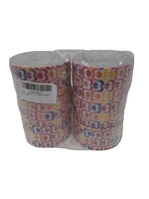 $15 • Buy  3M Scotch Duct Tape Hearts / 1.88 X10 Yds Each / Designer Tape / Lot Of 6 Rolls