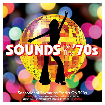 Sounds Of The '70s - 60 Sensational Seventies Tracks 3CD NEW/SEALED • 6.89£
