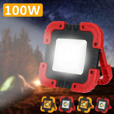 20W LED Work Lights Rechargeable Car Inspection Camping Torch USB Charging Lamp • 9.88£