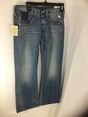 Replay Light Blue Jeans Style Janice Waist 25 Length 32 Baggy Fit • 18.99£