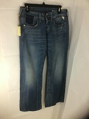 Replay Light Blue Jeans Style Janice Waist 28 Length 32 Baggy Fit • 18.99£