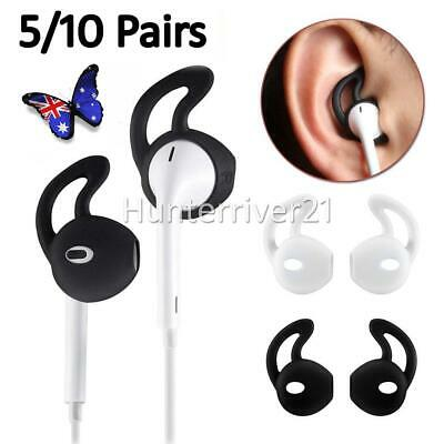 AU12.90 • Buy 5 Pair Airpods Earpod Ear Hook Cover For Apple Airpods Earbuds Ear Tips Silicone