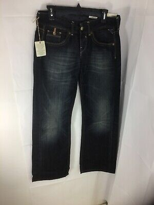 Replay Dark Blue Jeans Style Janice Waist 25 Length 32 Baggy Fit • 18.99£