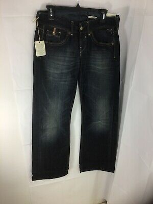 Replay Dark Blue Jeans Style Janice Waist 24 Length 32 Baggy Fit • 18.99£