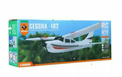 AIRPLANE CESSNA-182 2.4G 3CH RC RTF Airplane Aircraft Fixed Wing Plane,BRAND NEW • 39.99£