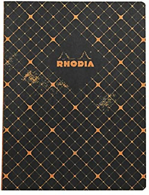 AU15.95 • Buy Rhodia - Heritage Notebook - Sewn Spine - Ruled - B5 - Quadrille Black - France