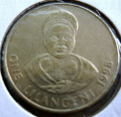 $4.50 • Buy Coin Swaziland 1lilan 1998 Unc Ta