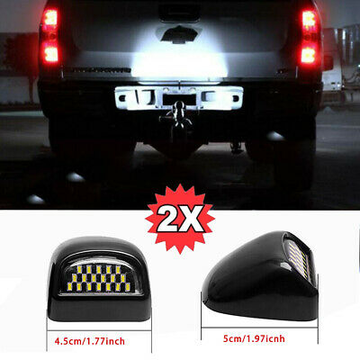 $12.12 • Buy 2*18LED Rear License Plate Light For 1999-2014 Chevy Tahoe Suburban GMC Yukon