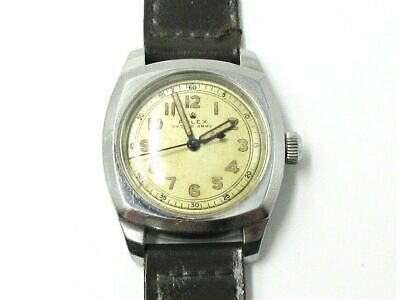 $ CDN5272.80 • Buy Rare Vintage Rolex Oyster Army 3139 Ww2 Swiss 17j Manual Wind Wrist Watch
