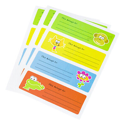 £4.49 • Buy 100 This Belongs To School Packed Lunch Name Stickers For Children Sticky Notes