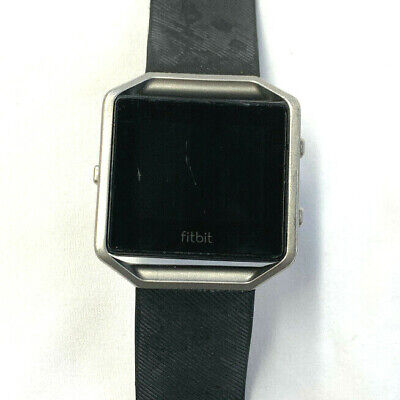 $ CDN86.51 • Buy Fitbit Blaze Silver With Large Black Band *No Charger*