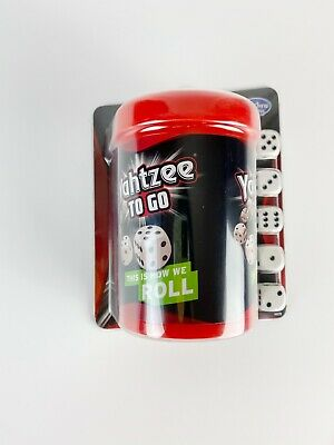 AU19.14 • Buy Yahtzee To Go Travel Game By Hasbro Gaming 2+ Players Fun At Home FREE SHIPPING