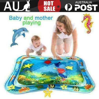 AU18.25 • Buy Inflatable Baby Water Mat Fun Activity Play Center For Children Infants Toy Mat