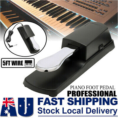 AU19.95 • Buy Piano Damper Sustain Pedal Foot Switch For Electric Yamaha Casio Roland Keyboard