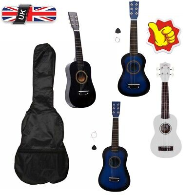 Acoustic Classical Beginners Guitar  Pick Strings For Children Beginners Gifts  • 14.99£